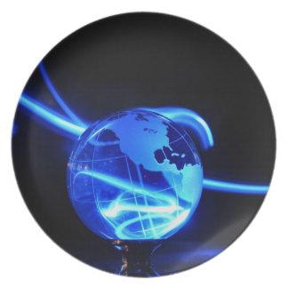 電気地球- プレート