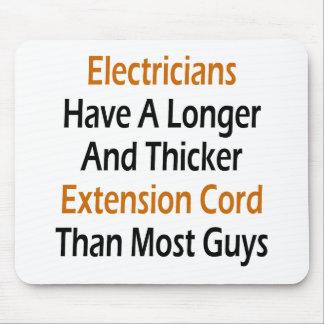 電気技師により長く、より厚い延長Cがあります マウスパッド