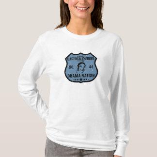 電気技師のオバマの国家 Tシャツ