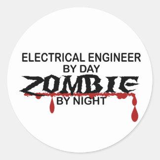 電気技師のゾンビ ラウンドシール