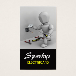 電気技師の名刺 名刺