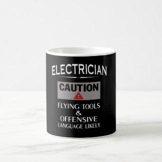 電気技師の安全 コーヒーマグカップ