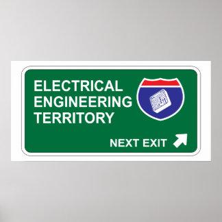電気技師の次の出口 ポスター