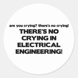 電気技師の泣き叫び無し ラウンドシール