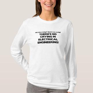 電気技師の泣き叫び無し Tシャツ