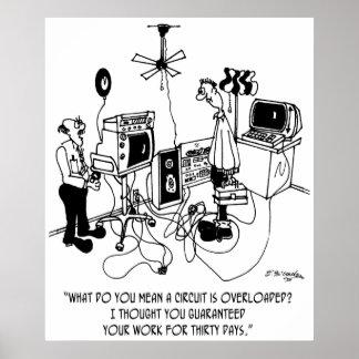 電気技師の漫画4427 ポスター