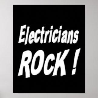 電気技師の石! ポスタープリント ポスター