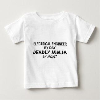 電気技師の致命的な忍者 ベビーTシャツ