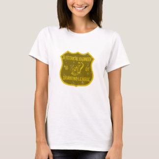 電気技師の飲むリーグ Tシャツ