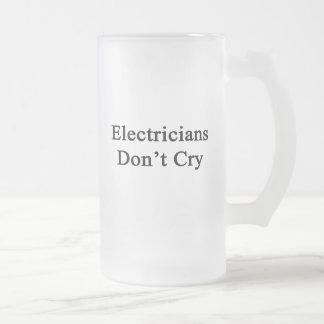 電気技師は叫びません フロストグラスビールジョッキ