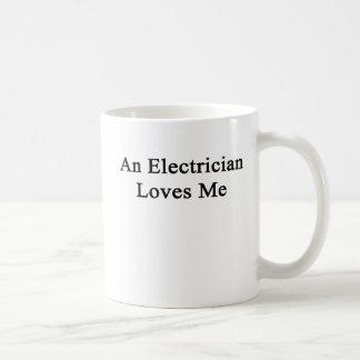 電気技師は私を愛します コーヒーマグカップ