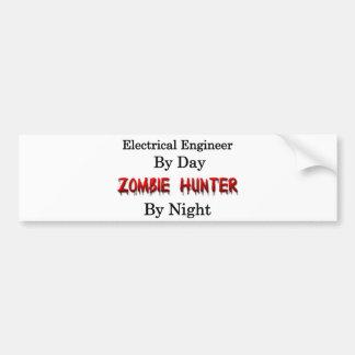 電気技師またはゾンビのハンター バンパーステッカー