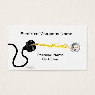 電気技師ビジネス名刺 名刺