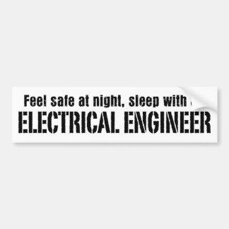 電気技師 バンパーステッカー