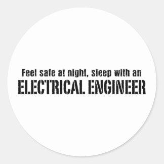 電気技師 ラウンドシール