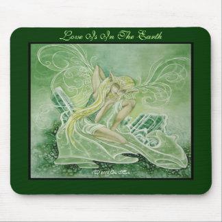 電気石の緑 マウスパッド