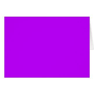 電気紫色の(無地ので強烈な色の) ~ カード