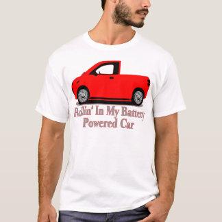 電気自動車のTシャツ Tシャツ