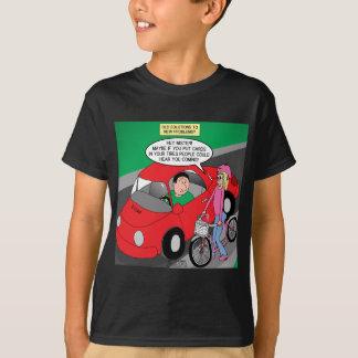 電気自動車問題 Tシャツ