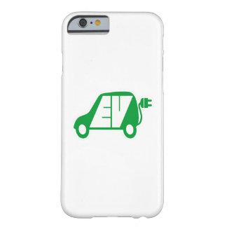 電気自動車緑EVアイコンロゴ- iPhoneの場合 Barely There iPhone 6 ケース
