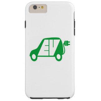 電気自動車緑EVアイコンロゴ- TOUGH iPhone 6 PLUS ケース