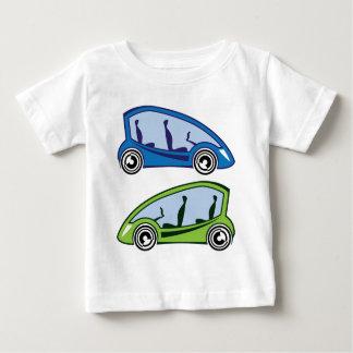 電気自動車 ベビーTシャツ
