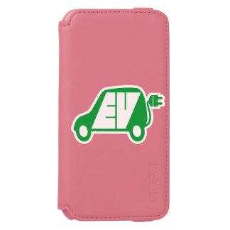 電気自動車EVアイコンロゴ- INCIPIO WATSON™ iPhone 6 ウォレットケース