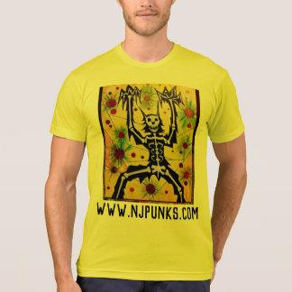 電気衣服-オオカミ Tシャツ