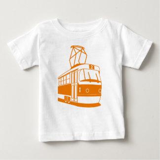 電気路面電車の交通機関 ベビーTシャツ