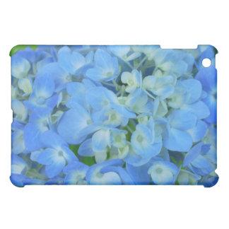 電気青いアジサイ iPad MINIケース