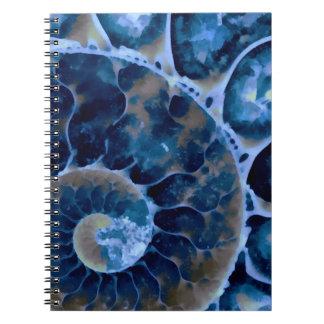 電気青いオウムガイ ノートブック