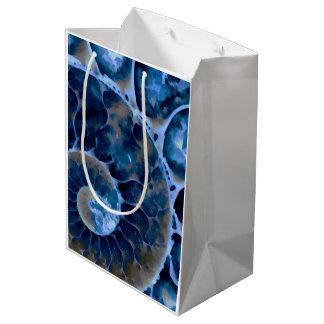 電気青いオウムガイ ミディアムペーパーバッグ