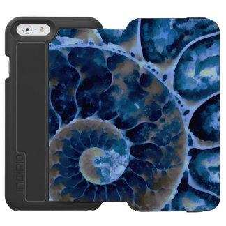 電気青いオウムガイ INCIPIO WATSON™ iPhone 5 財布型ケース