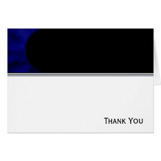 電気青いカーブ カード