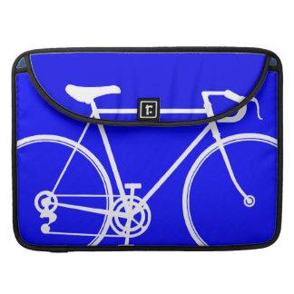 電気青いバイクのデザイン MacBook PROスリーブ