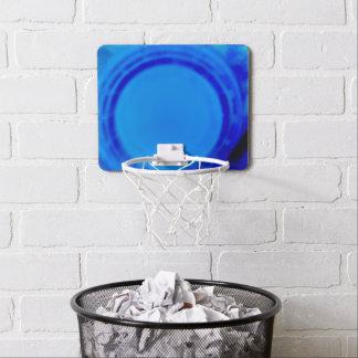 電気青い小型バスケットの球のゴール ミニバスケットボールゴール