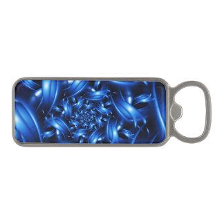 電気青い螺線形のフラクタルの栓抜き マグネット栓抜き
