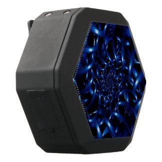 電気青い螺線形のフラクタルのBoombotのレックスのスピーカー ブラックBluetoothスピーカー