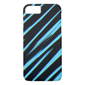 電気青い(抽象美術のデザインの) ~ iPhone 8/7ケース