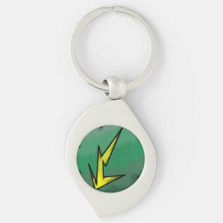 電気類縁の渦巻Keychain キーホルダー