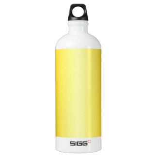 電気黄色および蜜柑の勾配 ウォーターボトル