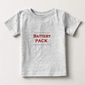 電池のパック ベビーTシャツ