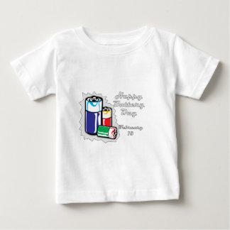 電池日2月18日 ベビーTシャツ