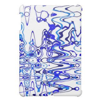 電波(青い) iPad MINI カバー