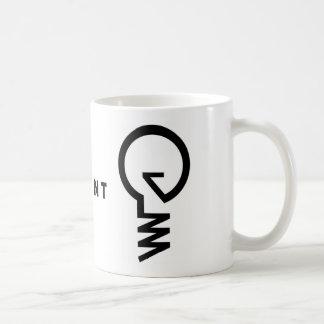 """電球のマグを""""発明して下さい"""" コーヒーマグカップ"""