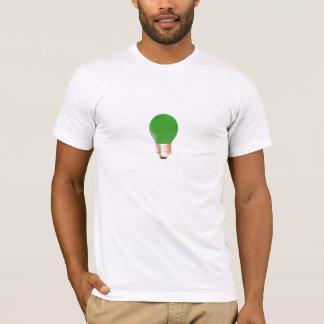 電球の明るいアイディア Tシャツ