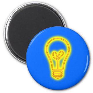 電球の磁石 マグネット