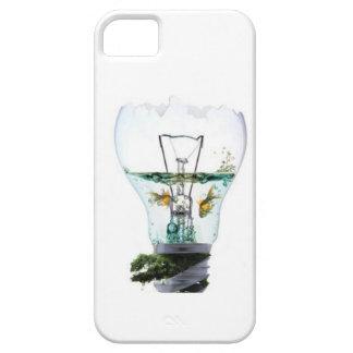 電球のIphoneの場合の金魚 iPhone SE/5/5s ケース