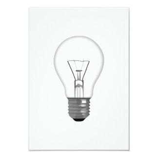 電球 8.9 X 12.7 インビテーションカード