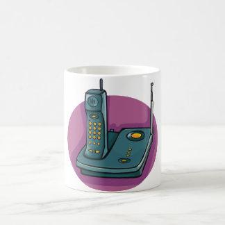 電話および応答機のマグ コーヒーマグカップ